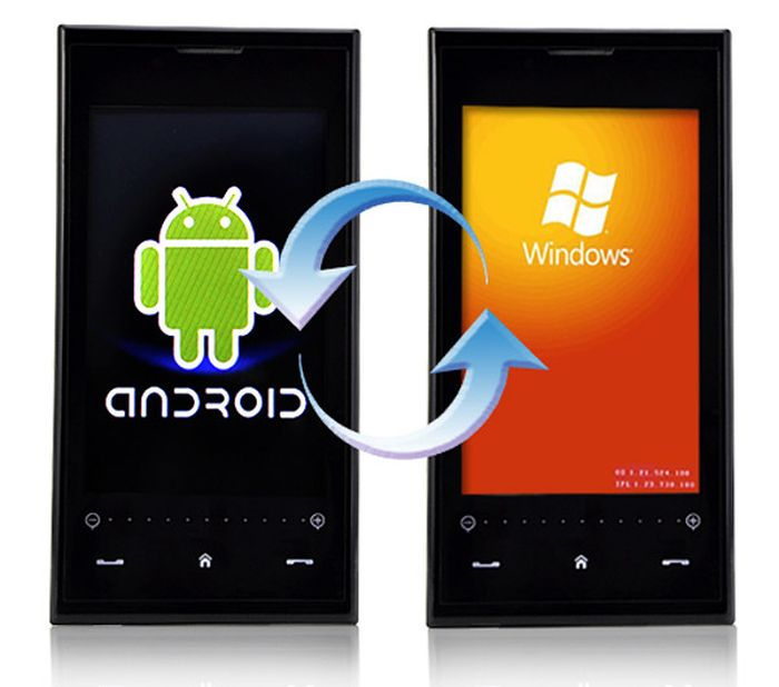 De Windows y Android en Equipo Solo Un